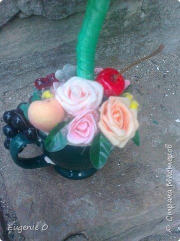 """Розы, фрукты, влюбленные мышки. Очень хотелось что-то """"стопиарить""""...и вот стопиарилось, то что имеем)). Мое отношение к данной работе -неоднозначное. В глубине души верю - не все так уж и плохо...))) фото 7"""