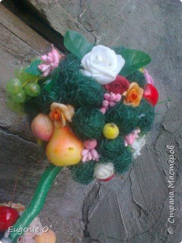 """Розы, фрукты, влюбленные мышки. Очень хотелось что-то """"стопиарить""""...и вот стопиарилось, то что имеем)). Мое отношение к данной работе -неоднозначное. В глубине души верю - не все так уж и плохо...))) фото 5"""