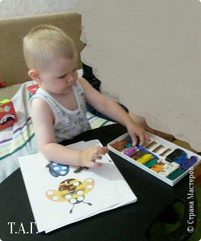 В свете событий, проходящего, лета скопилось некоторое количество работ внука, не показанных в Стране Мастеров. Решила восполнить пробел. фото 10
