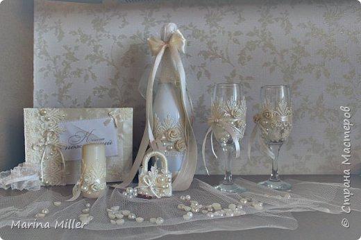 Наинежнейший свадебный набор (или я опять в деле) :)