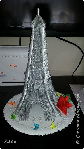 Эйфелева башня, стала подарком на день учителя.  фото 2