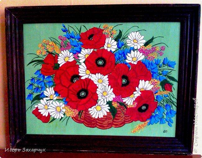"""Картина """"Полевые цветы"""" фото 2"""