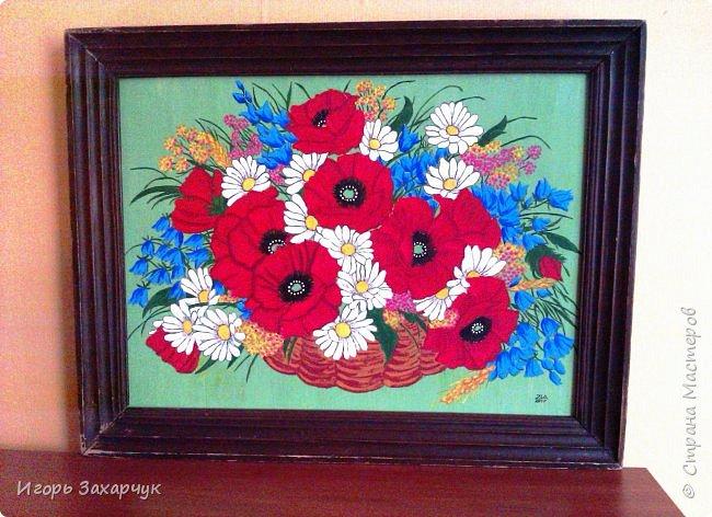 """Картина """"Полевые цветы"""" фото 4"""