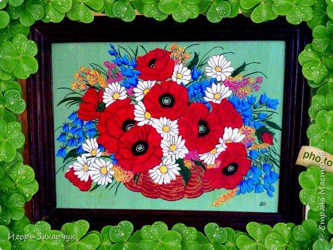 """Картина """"Полевые цветы"""" фото 1"""