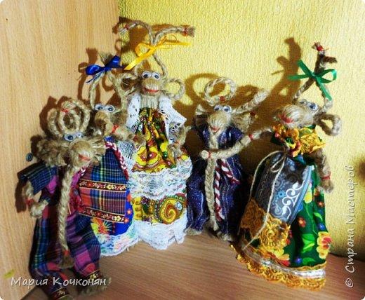 Рождественская обрядовая кукла «Коза» фото 1