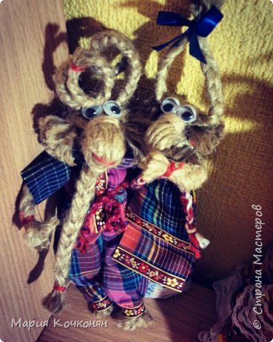 Рождественская обрядовая кукла «Коза» фото 2