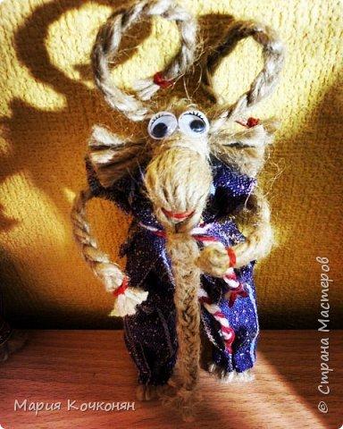 Рождественская обрядовая кукла «Коза» фото 3