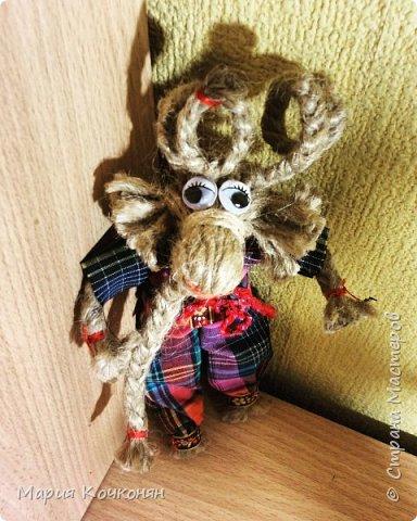 Рождественская обрядовая кукла «Коза» фото 4