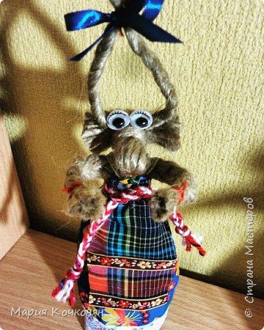Рождественская обрядовая кукла «Коза» фото 5