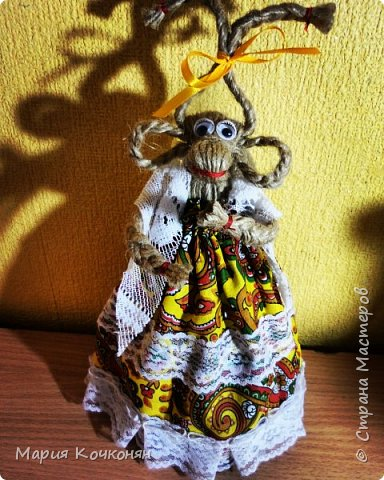 Рождественская обрядовая кукла «Коза» фото 7