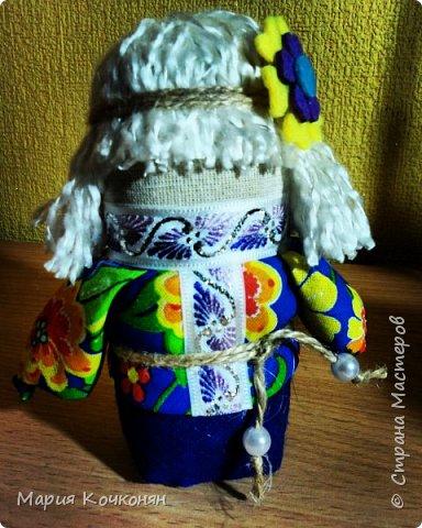 """Богач - это пара """"Крупенички"""" и очень редкая мужская фигура (куклак) в традиции изготовления тряпичных кукол. фото 5"""
