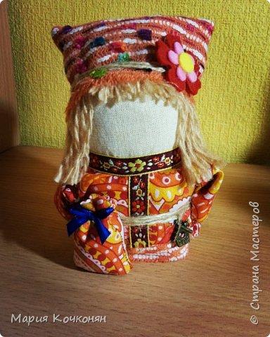 """Богач - это пара """"Крупенички"""" и очень редкая мужская фигура (куклак) в традиции изготовления тряпичных кукол. фото 1"""