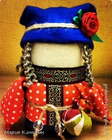 """Богач - это пара """"Крупенички"""" и очень редкая мужская фигура (куклак) в традиции изготовления тряпичных кукол. фото 2"""