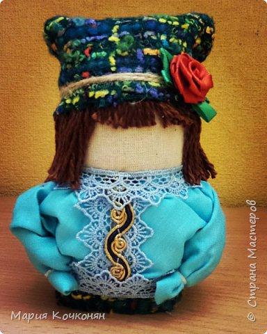 """Богач - это пара """"Крупенички"""" и очень редкая мужская фигура (куклак) в традиции изготовления тряпичных кукол. фото 3"""