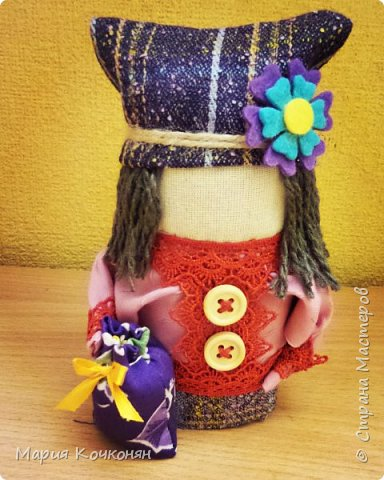 """Богач - это пара """"Крупенички"""" и очень редкая мужская фигура (куклак) в традиции изготовления тряпичных кукол. фото 4"""