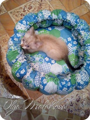 Лежаночка для кошки фото 2