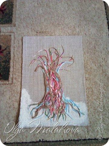 Всем привет! представляю свою новую работу, денежное дерево.Хочу подарить ее на свадьбу.  Немного расскажу , как делала.В основе ствола дерева -салфетки 3х и 2х слойные,и нитки шпагат.и клей ПВА. фото 5