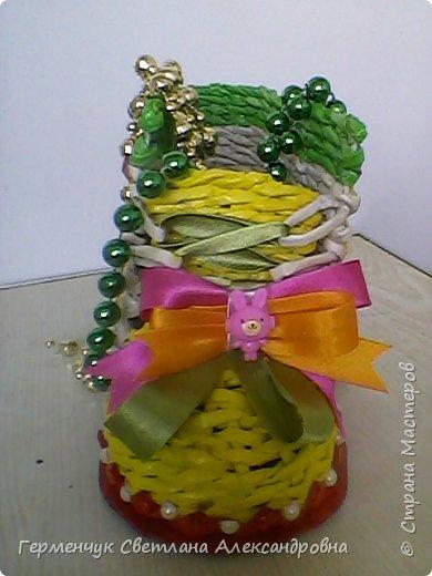 Шкатулка - ботинок из бумажных трубочек .Увидела   МК   для начинающих  у замечательной  мастерицы Елены Пузановой . фото 27