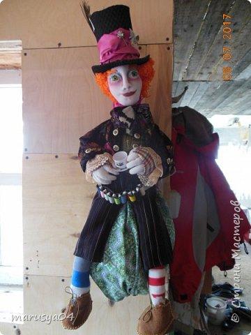 Ну вот - своя интерпретация Шляпника из Алисы в стране чудес. Не Джонни Деп конечно... но попыталась как могла... фото 13