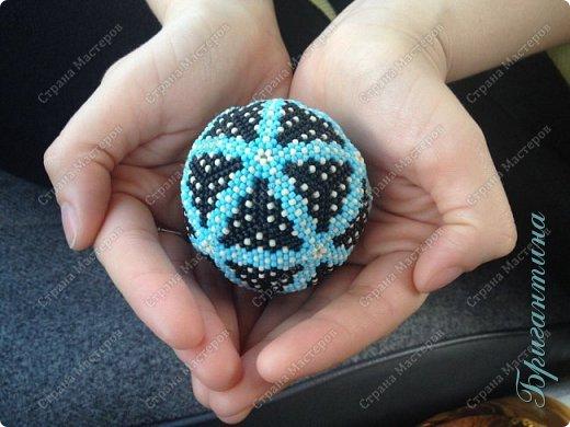 Вот такой шарик получился)) фото 1