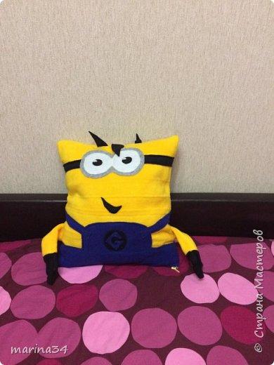 Подушка миньон фото 2