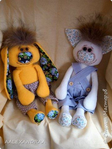 Флисовые игрушки  фото 2