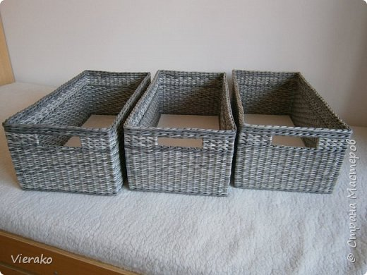 Набор корзин в штеллажи фото 1