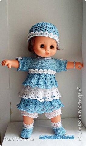 """Здравствуйте, уважаемые жители Страны Мастеров. Как-то так получается, что меня стали находить))) винтажные куколки, которым нужно """"лечение"""". Вот хочу поделиться с вами, что у меня получается. Это кукла ГДР чучка или Барбарик, ей я шила новое тело и вязала одежду, старалась, чтобы новая одежка была максимально приближена к родному аутфиту. Если интересны подробности, то чучка-Барбарик здесь https://naninarukodelky.blogspot.ru/2016/09/blog-post.html, фото 2"""
