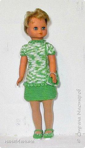"""Здравствуйте, уважаемые жители Страны Мастеров. Как-то так получается, что меня стали находить))) винтажные куколки, которым нужно """"лечение"""". Вот хочу поделиться с вами, что у меня получается. Это кукла ГДР чучка или Барбарик, ей я шила новое тело и вязала одежду, старалась, чтобы новая одежка была максимально приближена к родному аутфиту. Если интересны подробности, то чучка-Барбарик здесь https://naninarukodelky.blogspot.ru/2016/09/blog-post.html, фото 5"""