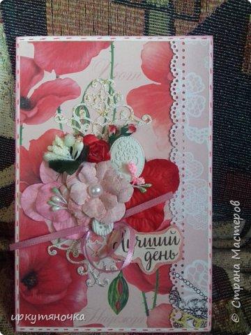 Вот такими подарочками меня порадовала Галина http://stranamasterov.ru/user/384468. В такой маленькой коробочке, а столько всего!!! От подарочков я в полном Восторге! Приготовьтесь фото будет много... фото 7