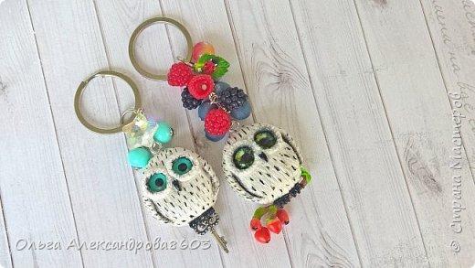 Полярная сова,с ключиком в лапках)))! фото 4