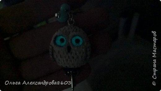 Полярная сова,с ключиком в лапках)))! фото 2