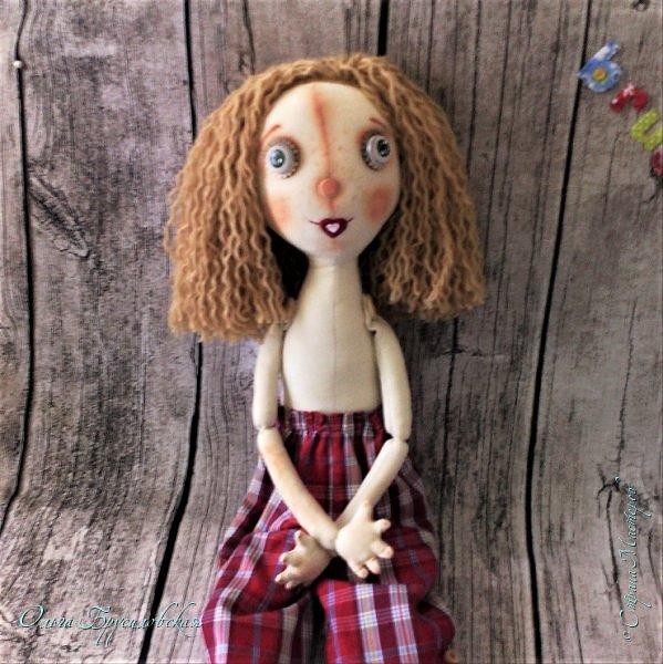 Привет всем в СМ! Мое участие в конкурсе в Инстаграм не ограничилось созданием Повара. Решила сшить еще одну куклу - Художника. фото 3