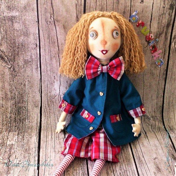 Привет всем в СМ! Мое участие в конкурсе в Инстаграм не ограничилось созданием Повара. Решила сшить еще одну куклу - Художника. фото 5