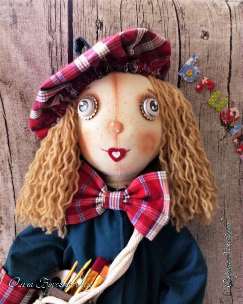 Привет всем в СМ! Мое участие в конкурсе в Инстаграм не ограничилось созданием Повара. Решила сшить еще одну куклу - Художника. фото 1