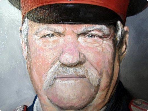 Мужской портрет маслом. Холст на подрамнике. Формат 40*50. фото 4