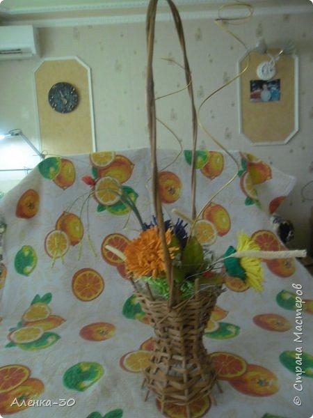 Сделала букет на городской конкурс в детский сад. В прошлом году мы этот конкурс выиграли с Хрюшкой из Ну погоди.)))) фото 3