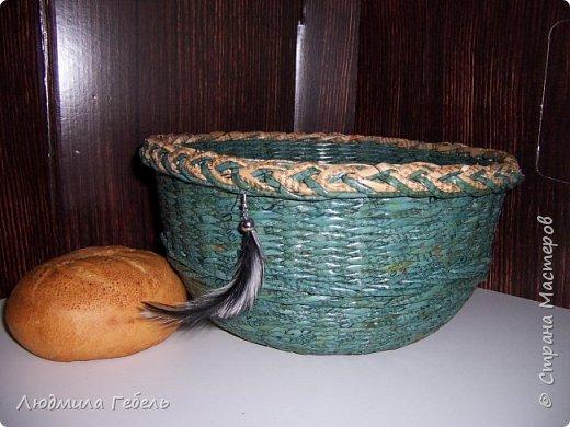 Хлебница, трубочки окрашен луковой шелухой. фото 8