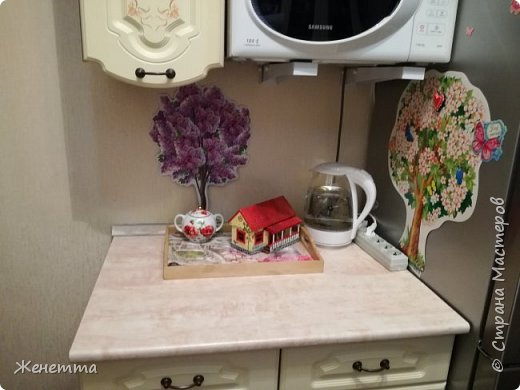 Мои чайные домики, и как они смотрятся на кухне фото 4