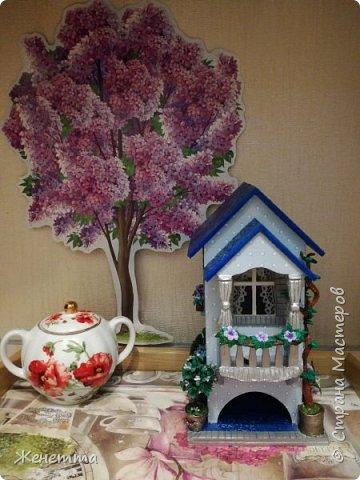 Мои чайные домики, и как они смотрятся на кухне фото 5