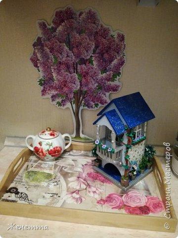 Мои чайные домики, и как они смотрятся на кухне фото 1