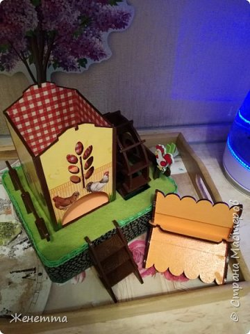 Мои чайные домики, и как они смотрятся на кухне фото 12