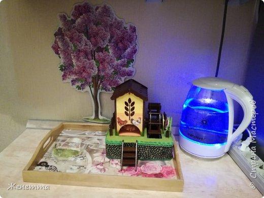 Мои чайные домики, и как они смотрятся на кухне фото 13