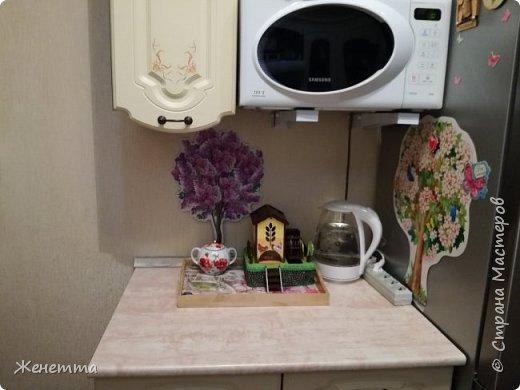 Мои чайные домики, и как они смотрятся на кухне фото 15