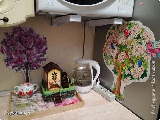Мои чайные домики, и как они смотрятся на кухне фото 16