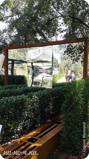"""Всем добрый день!!!  Сегодня я вам предлагаю прогуляться по ВВЦ. Я была на выставке """" Сады и люди"""". Он находится около павильона №75. Территория не очень большая, но очень много красиво созданных уголков... В корзине маленькие поросята, или кабанята))) фото 27"""