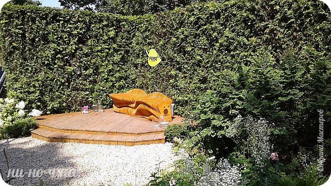 """Всем добрый день!!!  Сегодня я вам предлагаю прогуляться по ВВЦ. Я была на выставке """" Сады и люди"""". Он находится около павильона №75. Территория не очень большая, но очень много красиво созданных уголков... В корзине маленькие поросята, или кабанята))) фото 37"""
