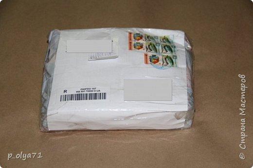 ЗДРАВСТВУЙТЕ!!!! Я к вам опять радоваться!)))  Получила вчера посылочку от Эл     http://stranamasterov.ru/user/399311         !!!!  фото 1