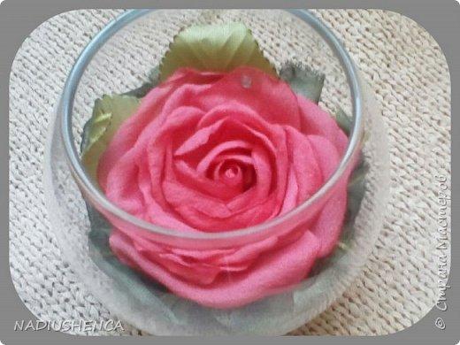 Роза в стекле. фото 1