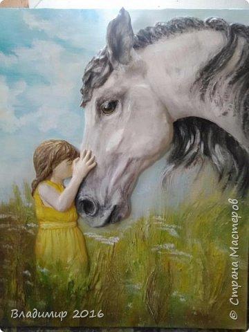Девочка и лошадь 3